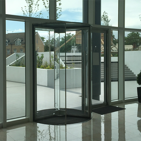 Door operators: Slidedoor, Swingdoor, Revolvedoor, Foldoor automatic entrances