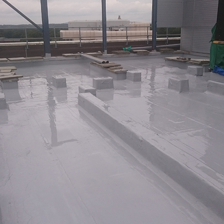 Liquid Waterproofing on a New Roof