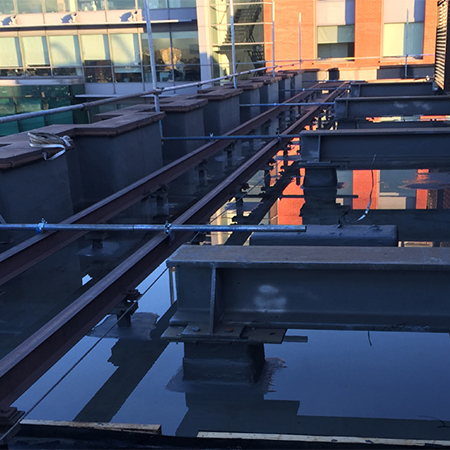 Wecryl waterproofing system for Pall Mall Court
