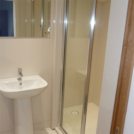 En-suite facilities at Winchester College