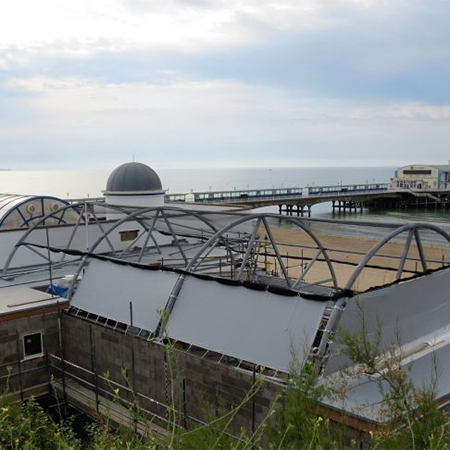Single Ply Roofing For Bournemouth Oceanarium