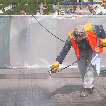 Alchimica waterproofing system for KRK Bridge