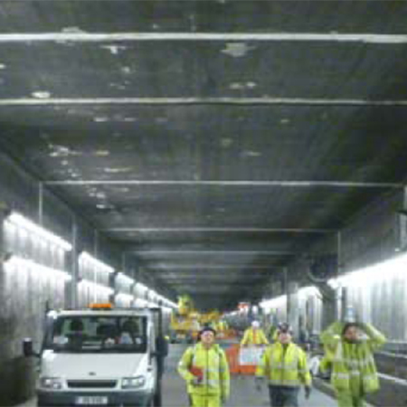 Main Access Tunnel at Heathrow Airport