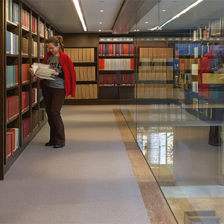 nora® rubber floorings for Oxford University