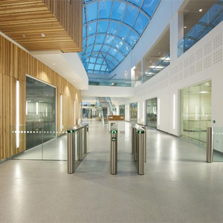 Innovative balustrades for Waters Corporation