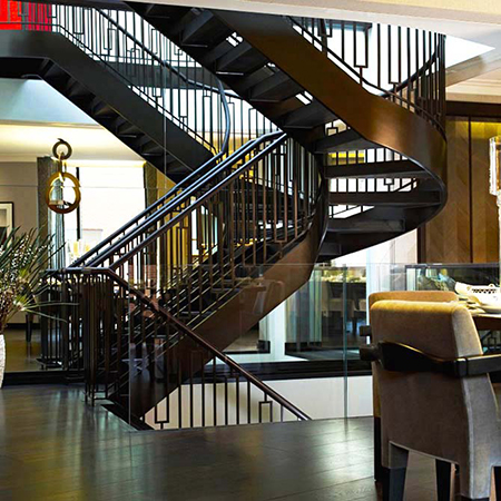 Different Styles of Steel Balustrades for your Staircase