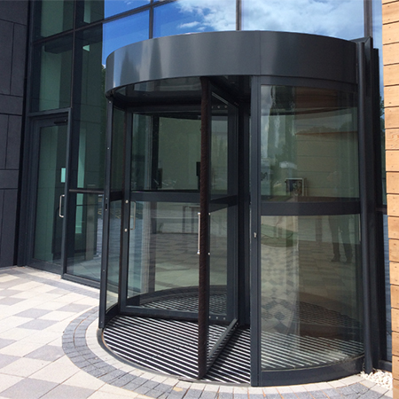 Eye catching entrance system for prestigious project