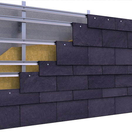 Rainscreen Cladding: CUPACLAD® 101 RANDOM