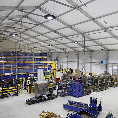 LED lighting solutions for Balfour Beatty warehouse