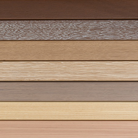 Range of colours available for Internorm's HF410 Windows