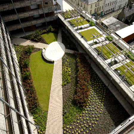 Alumasc green roofs at the River Quarter
