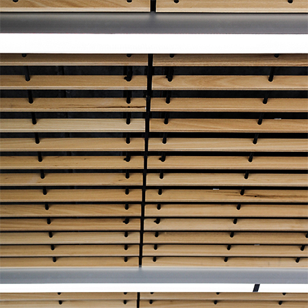 Grill ceiling completes look for Northbrook College