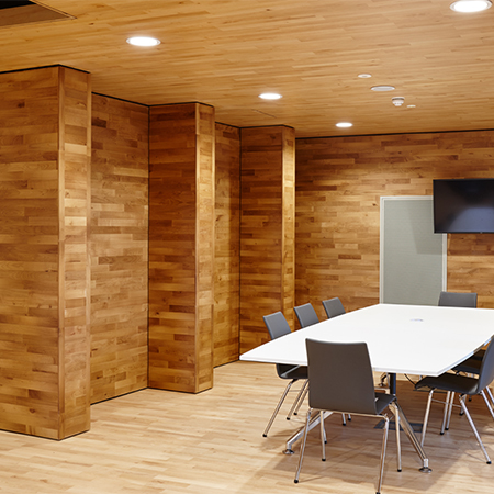 Junckers timber for University of Hertfordshire