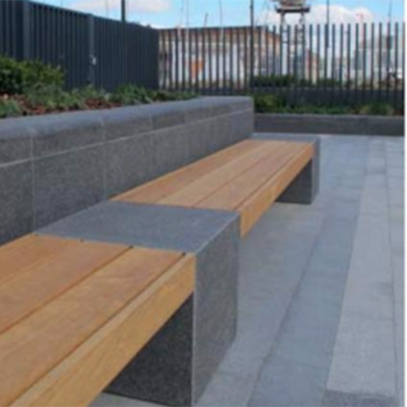 Seating solution for London Docklands housing scheme