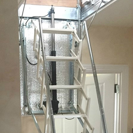 Escalmatic motorised loft ladder ticks all the boxes