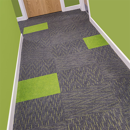 Heckmondwike carpets for new-build student accommodation