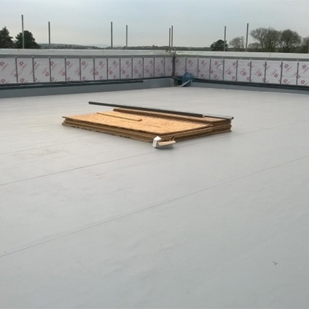 Durable waterproofing solution for primary school
