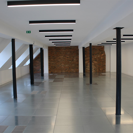 Underfloor air conditioning for London offices