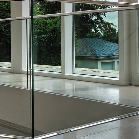 Easy glass system creates grand entrance