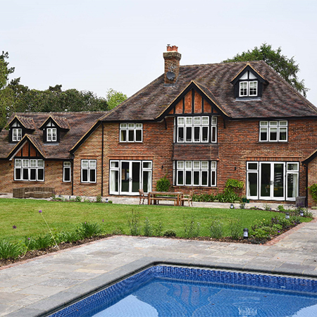 Timber windows & doors for Arts and Craft home