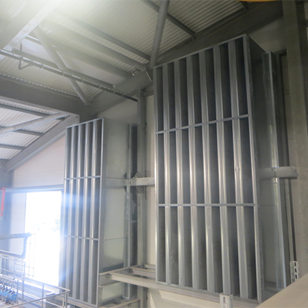 Louvre & attenuation package for EFW facility