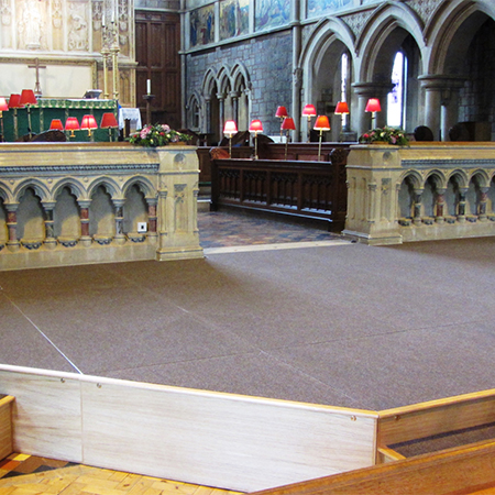 CPS design new dais for St Peter's Church