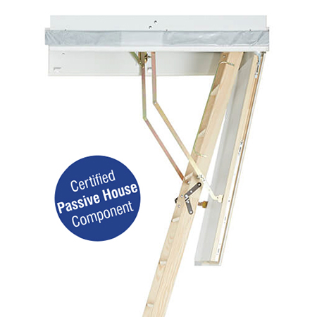 Designo: the Passive House certified loft ladder
