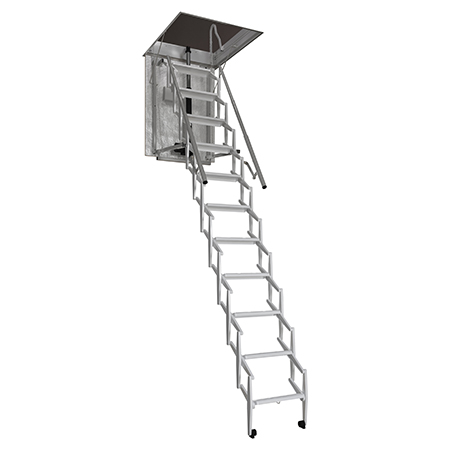 Fully automatic loft ladders make loft access easy