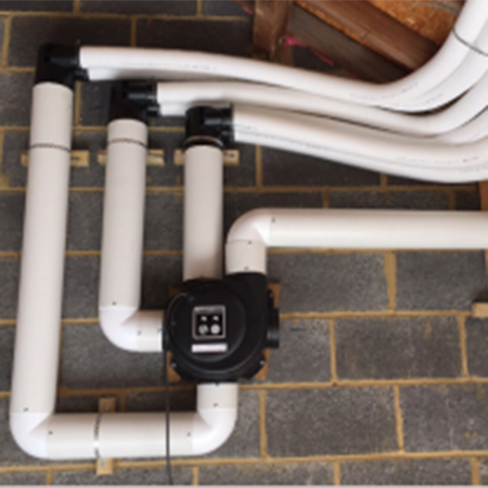 Ventilation solutions for Anstey Hall