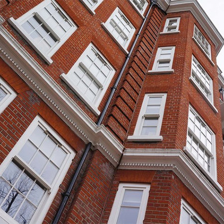 Timber windows for Westminster apartments