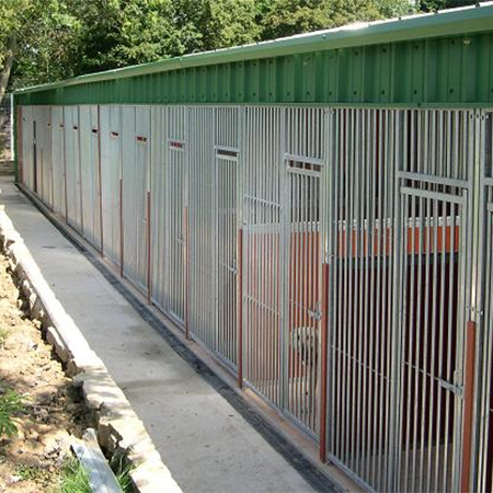 Complete kennel rebuild at Rhyddings Luxury Kennels