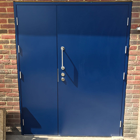 Secure doors & shutter for Wimbledon warehouse