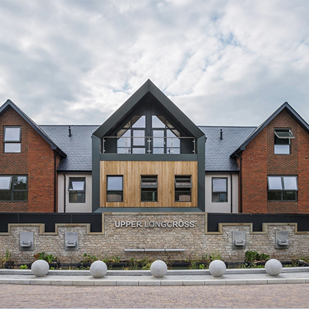 Natural slate brings heritage feel to garden village