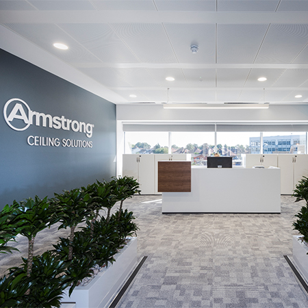 Armstrong Ceiling Solutions at Harman House