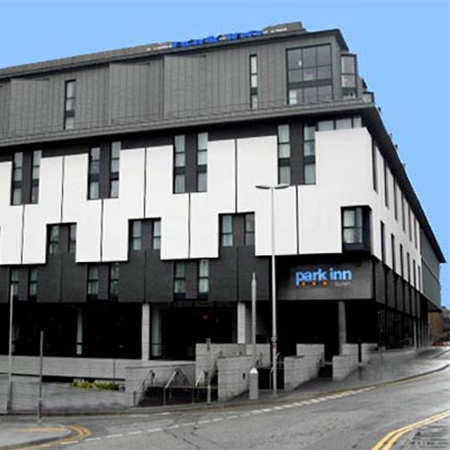 Alumasc waterproofing for Park Inn in Aberdeen