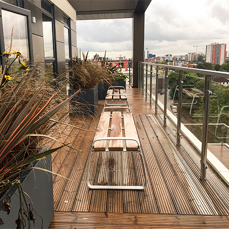 Affordable seating for stylish Salford apartments