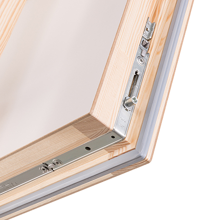 The innovative Quadro loft hatch and ladder