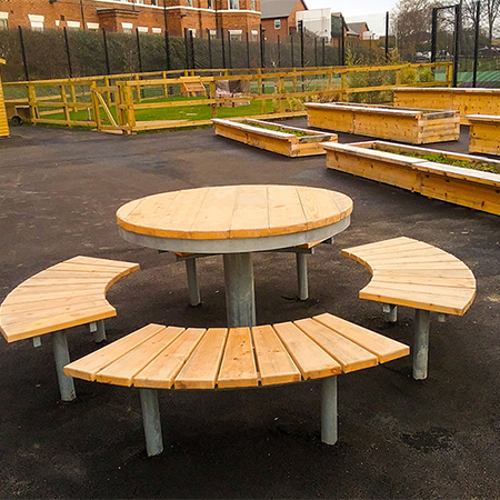 Specialist furniture for mental health facility