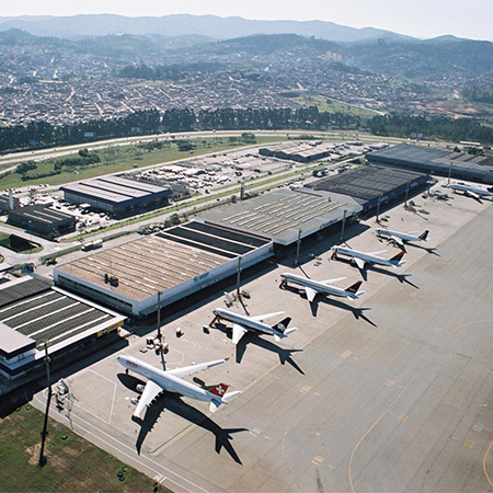 ULMA drainage channels for Brazil's largest airport