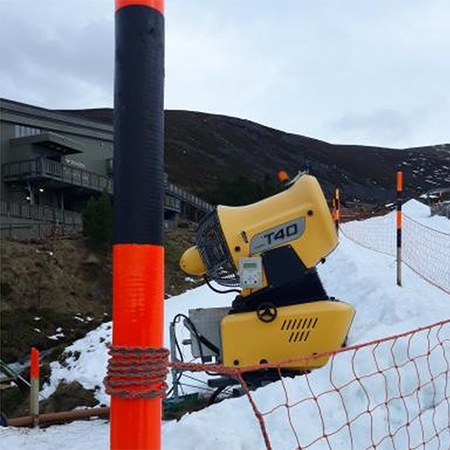 Coo-Var Glocote Paint for Cairngorm Ski Area
