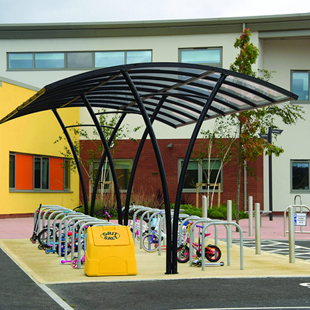 Cycle parking for Newton Leys Primary