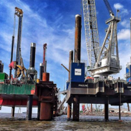 BASF admixtures used for dock extension