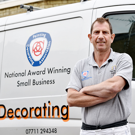 Crown Paints assist award winning decorator