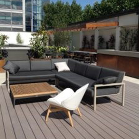 Wallbarn aid landscaping project at London office