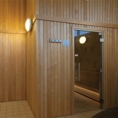 Steam room and sauna at Roehampton Club