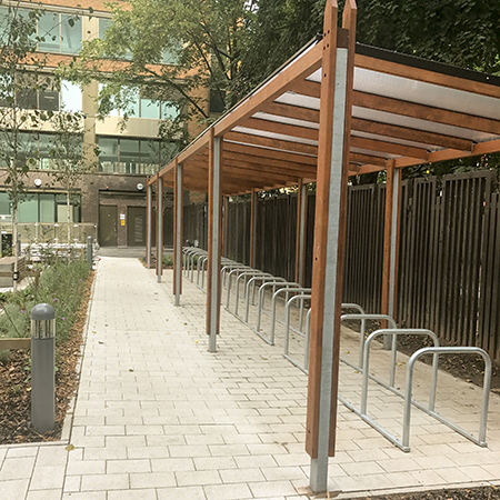 Bailey help create outdoor oasis in Manchester city centre