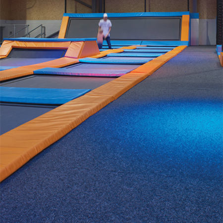 Ideal carpet solutions for the sports sector