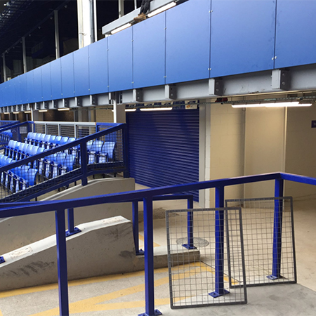 Facilities upgrade for Everton FC arena