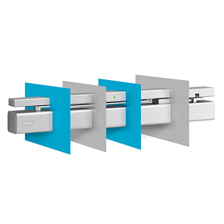 New design for door closers