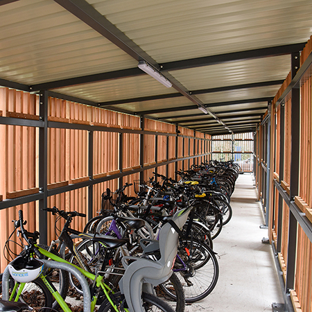 Custom cycle storage for University of Oxford